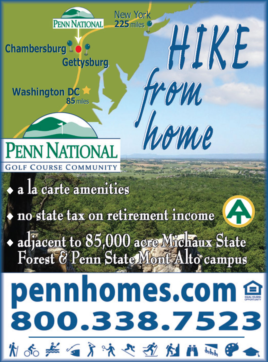 Penn Homes Advertisement