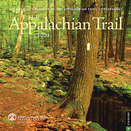 Sneak peek of the 2021 official Appalachian Trail Conservancy (ATC) calendar image